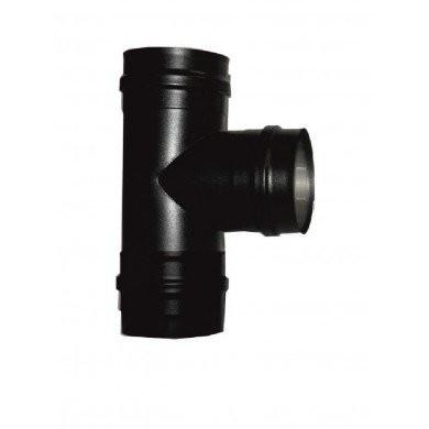 T 80 mm vers 100 mm avec tampon