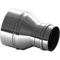 Versmalling RVS 150 naar 130 mm